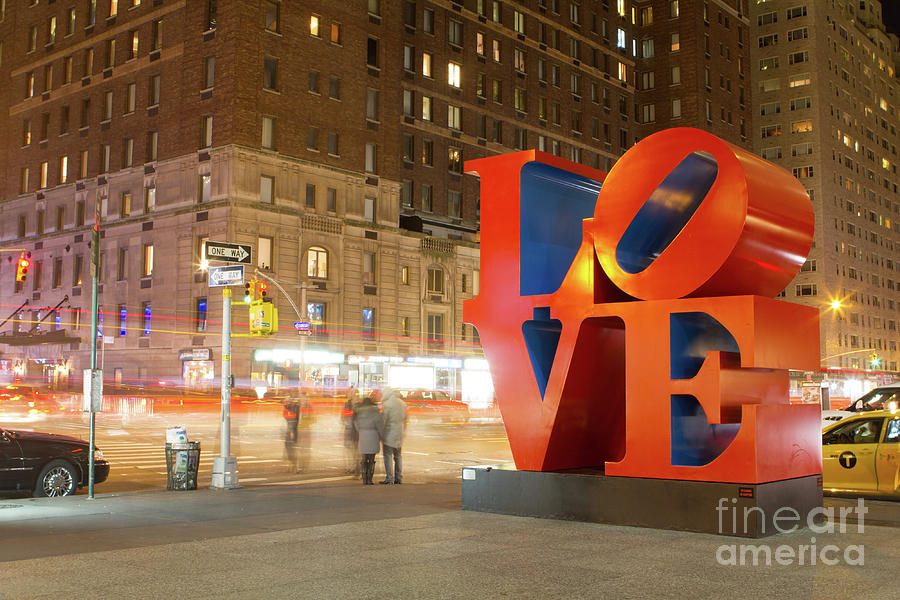 Manhattan Love Photograph