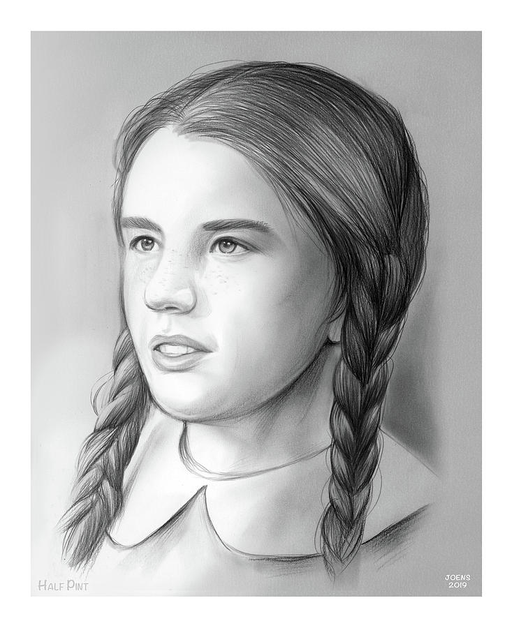 Melissa Gilbert Drawing
