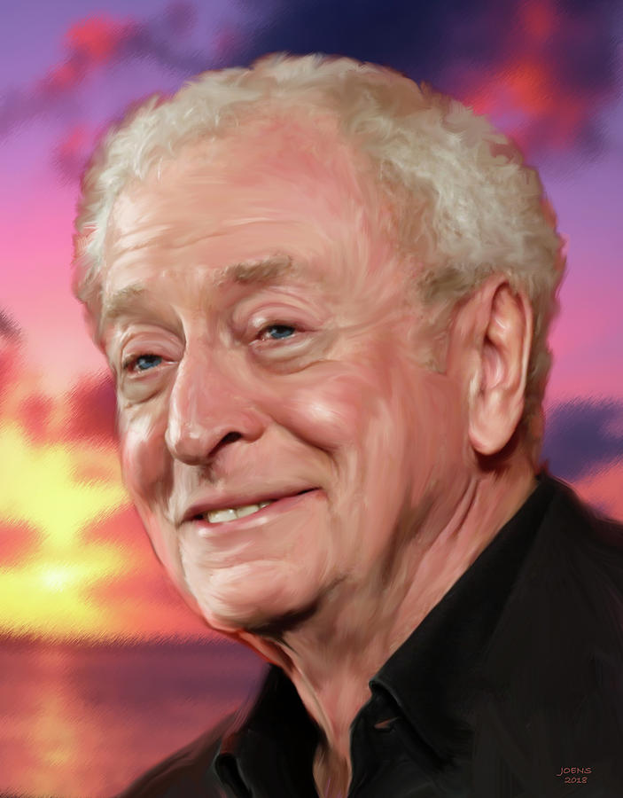 Michael Caine Drawing