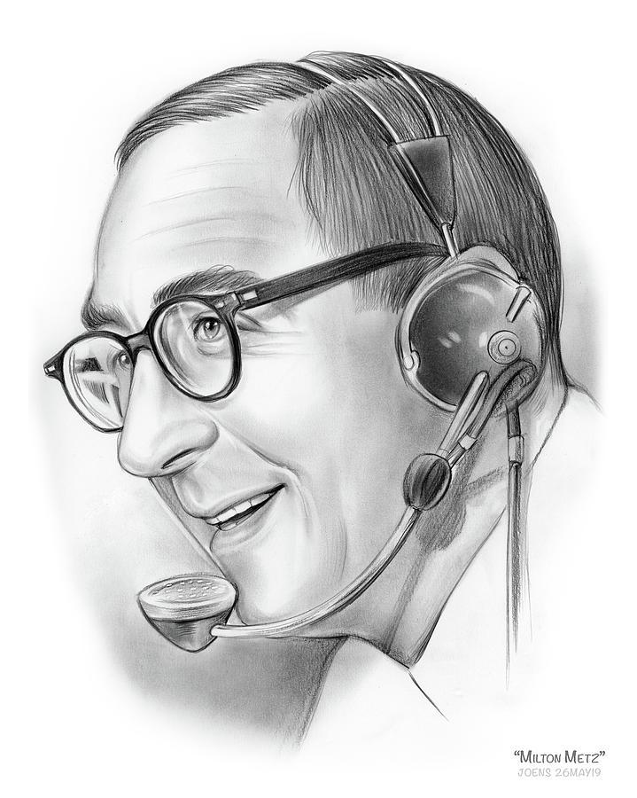 Milton Metz Drawing