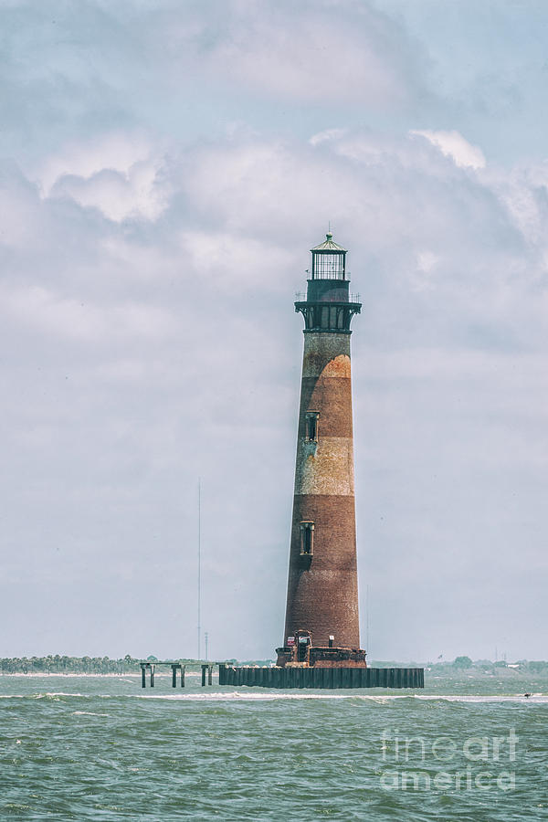 Morris Island Lighthouse - Save The Lighthouse In Charleston Photograph