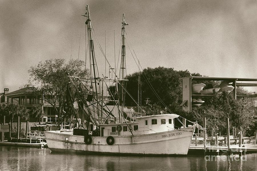 Mrs Judy Too - Shrimp Boat Photograph