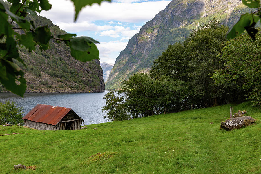 Naeroyfjord, Norway Photograph