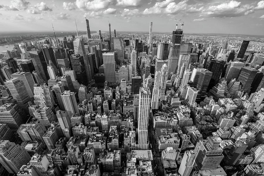 New York City Black White Photograph