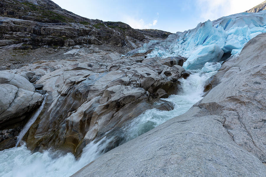 Nigardsbreen, Norway Photograph