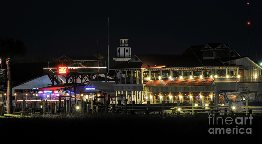 Nightlife On The Creek Photograph