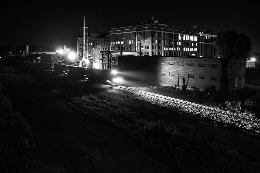 Norfolk Southern Behind King Pharmaceuticals Photograph