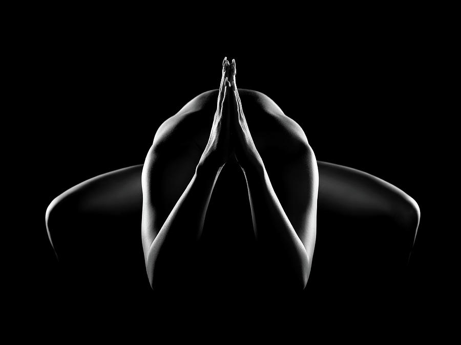Nude Woman Bodyscape 28 Photograph