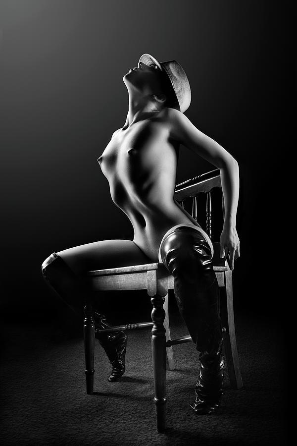 Nude Woman On Chair 2 Photograph