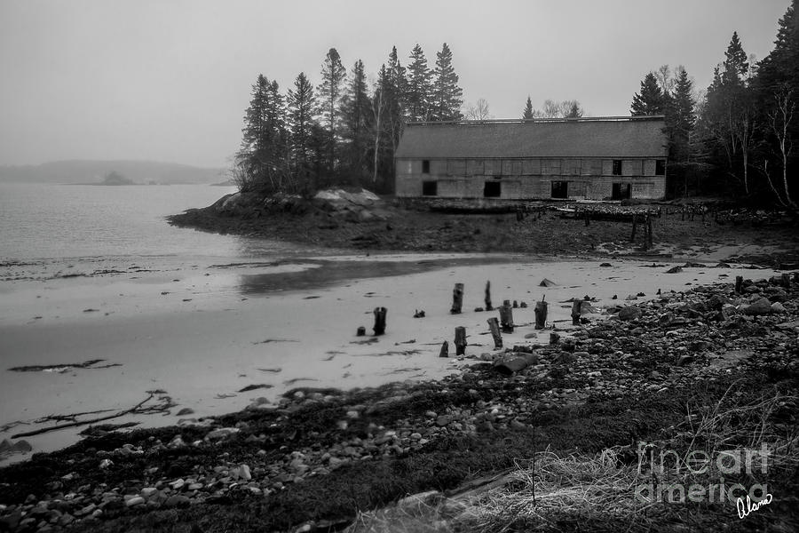Old Smoke House Photograph