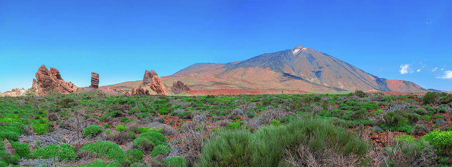 Panoramic View Of The Teide National Park Photograph