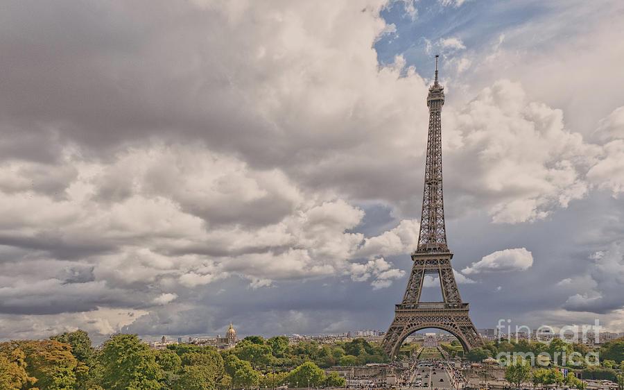 Paris Landscape Photograph