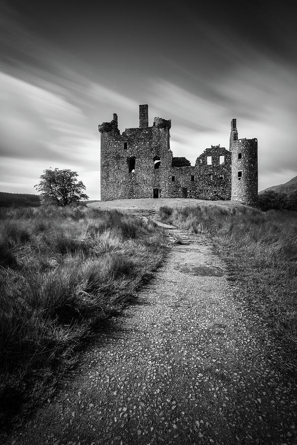 Path To Kilchurn Castle Photograph