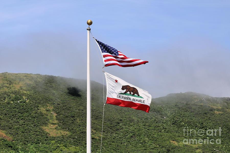 Patriotism And California Republic Photograph