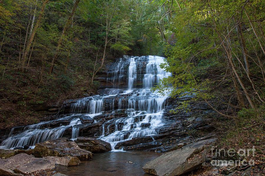 Pearsons Fall And Glen - Saluda North Carolina Photograph