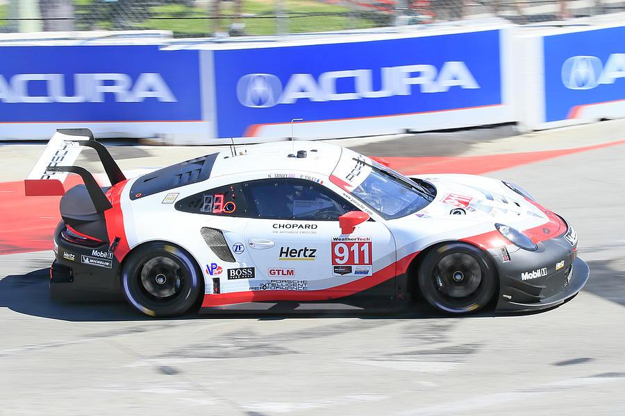 Porsche 911 Speeding Photograph
