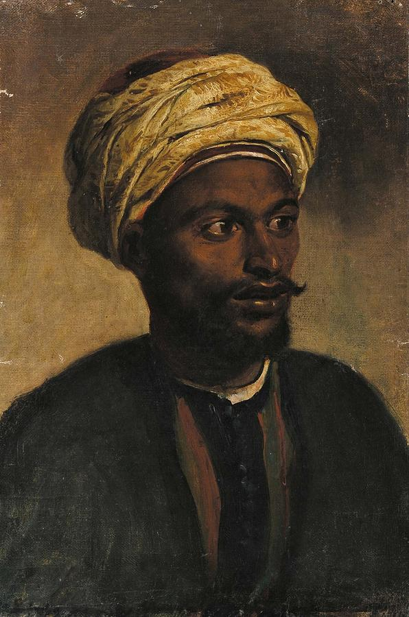 Portrait Of An Arab Painting