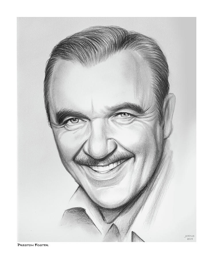 Preston Foster Drawing