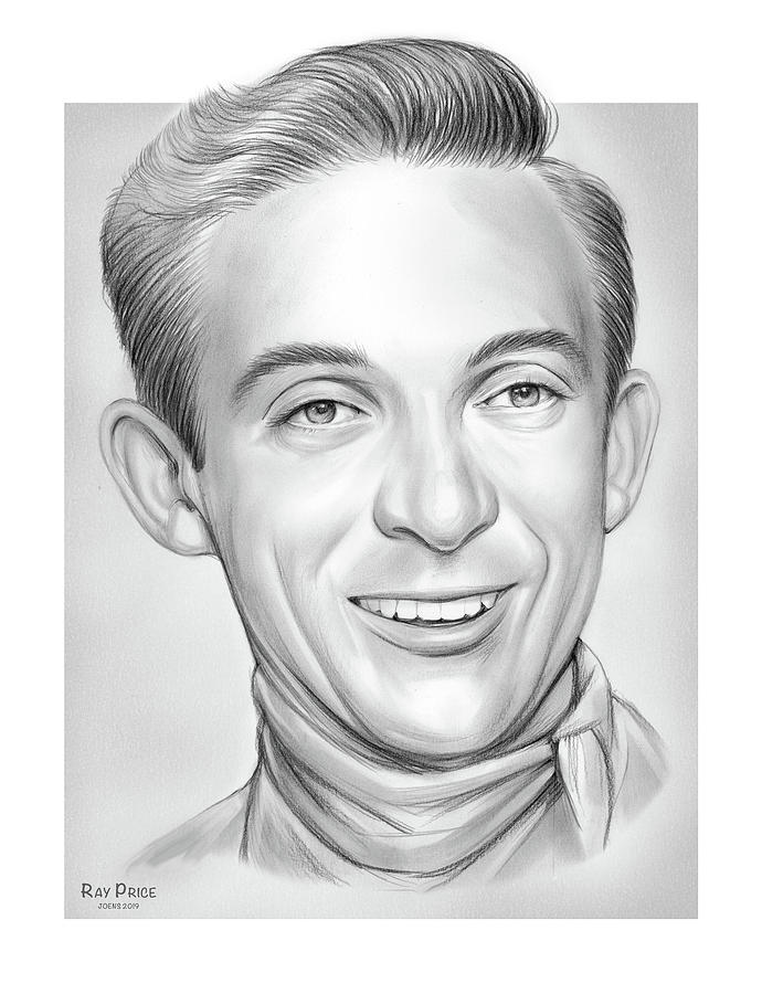 Ray Price Drawing