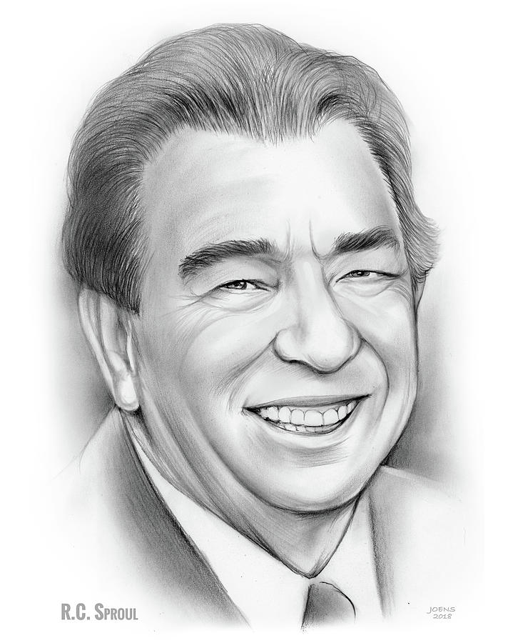 Rc Sproul Drawing