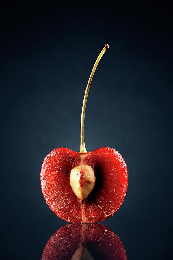 Red Cherry Still Life Photograph