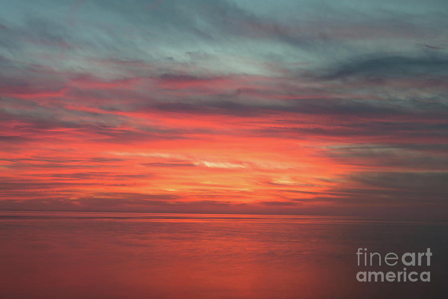 Red Sky - Sailors Delight Photograph