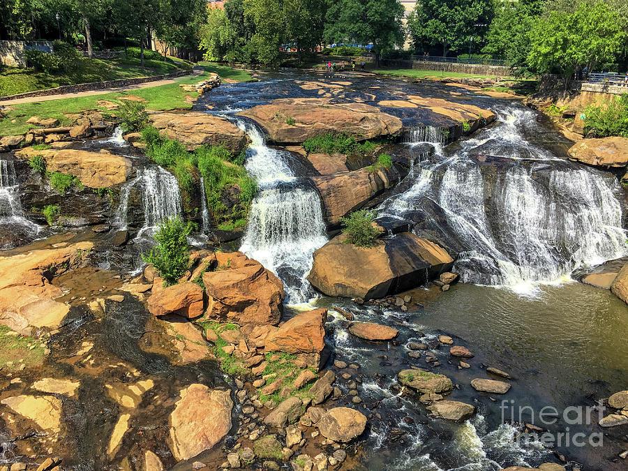 Reedy River Falls - Greenville Photograph