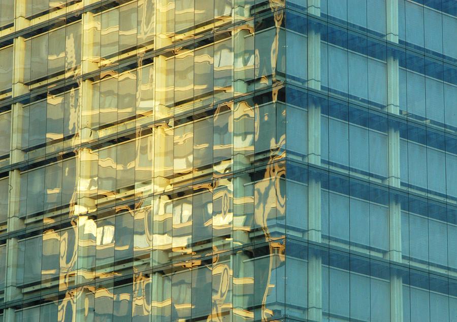 Reflecting Liquid Gold Photograph