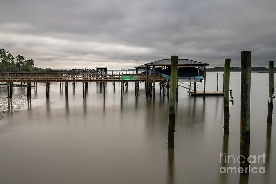 Rivertowne On The Wando Silky Waters Photograph