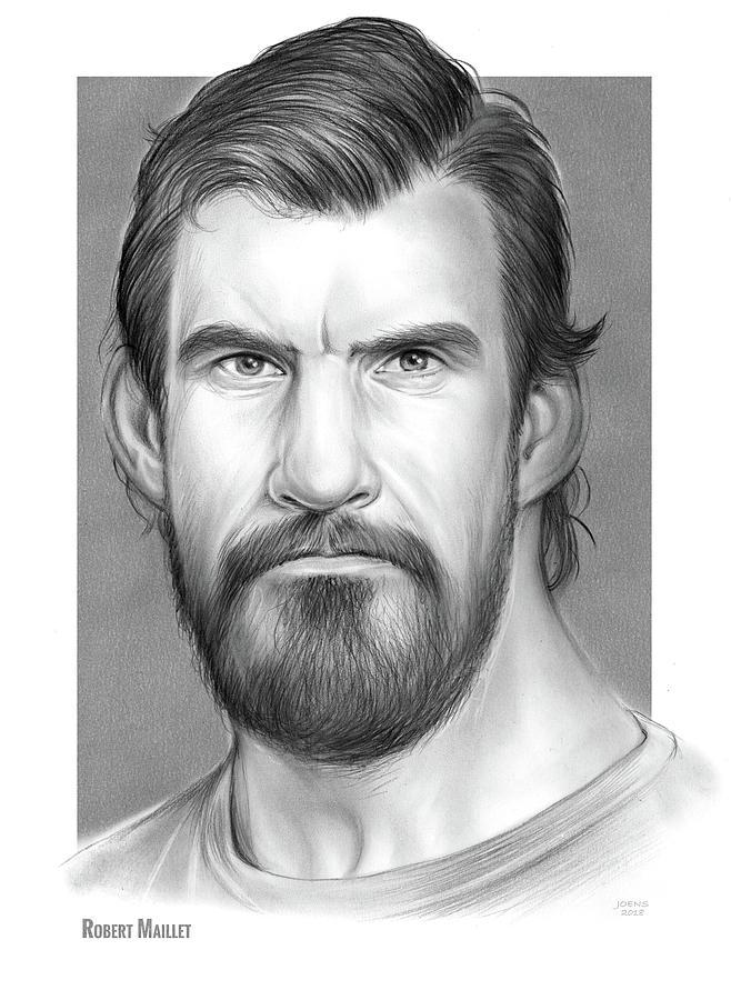 Robert Maillet Drawing