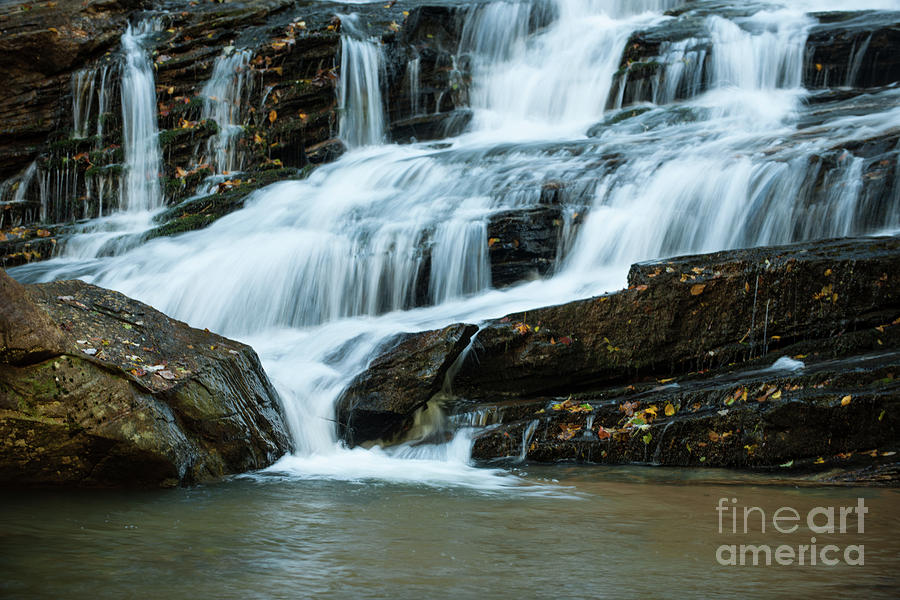 Rocky Water Fall Photograph