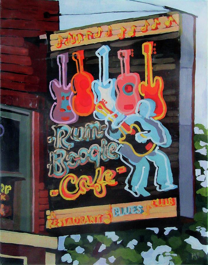 Rum Boogie Painting