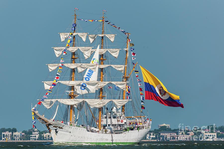 Sailing Home Photograph