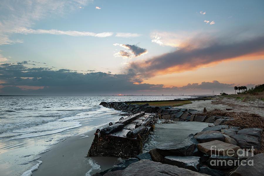 Salty Shores - Sullivans Island Photograph
