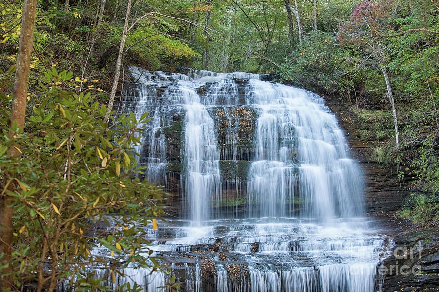 Saluda Nc Water Fall Photograph