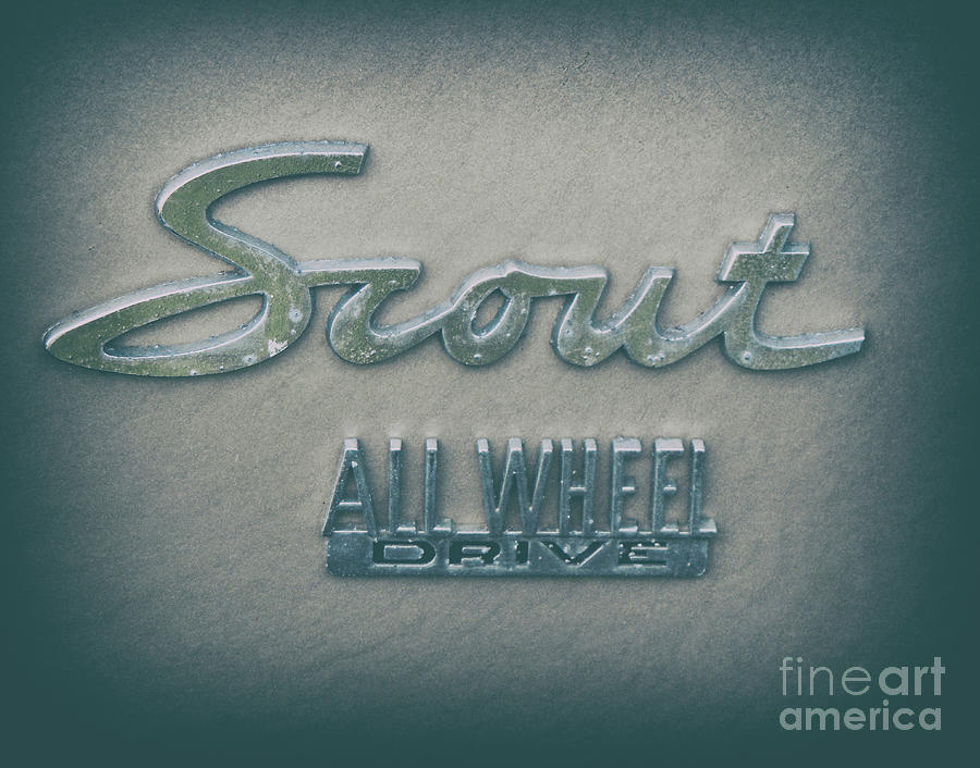 Scout All Wheel Drive - Vintage Photograph