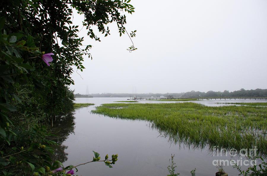 Sea Fog - Charleston Photograph