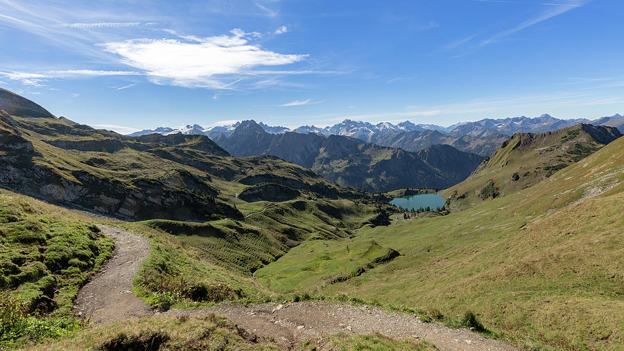 Seealpsee, Allgaeu Alps Photograph