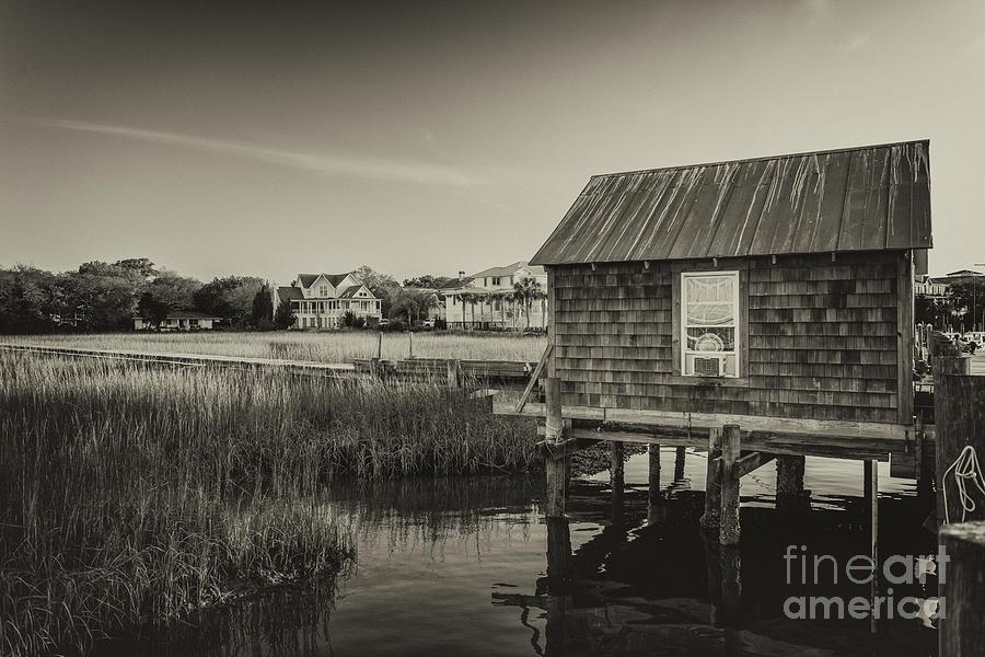 Shem Creek Boat House Photograph