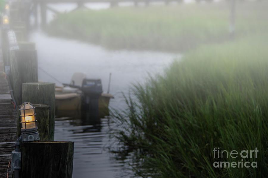 Shem Creek Fog Photograph