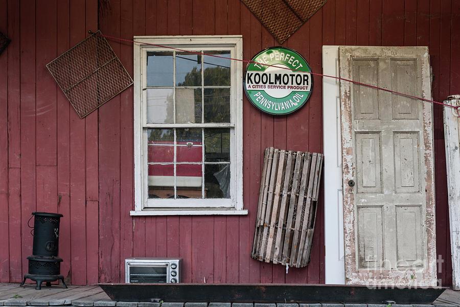 Side Porch Treasure Photograph