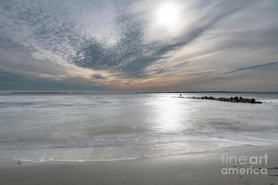 Silky Ocean Blue Photograph