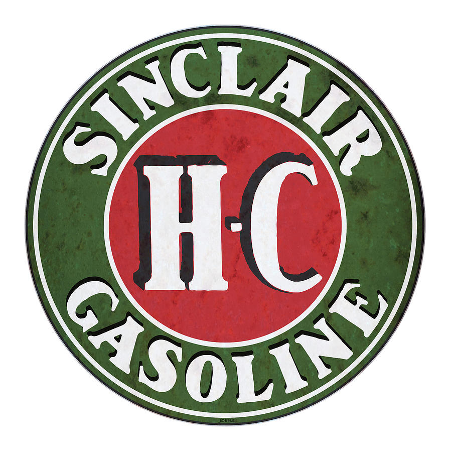 Sinclair Gasoline Drawing