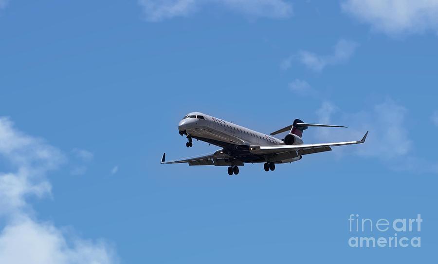 Delta Commercial Passenger Jet Photograph