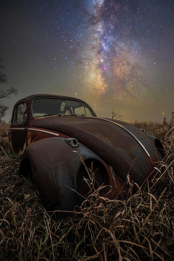 Slug Bug rust Photograph