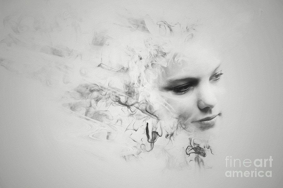 Smoke Portrait Photograph