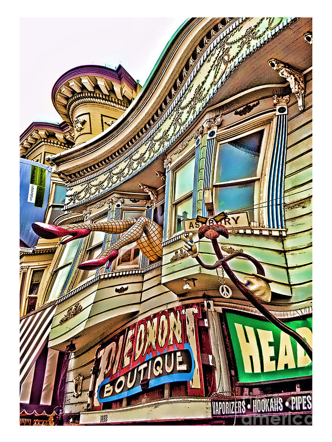 Something To Find Only The In The Haight Ashbury Warped Version Digital Art