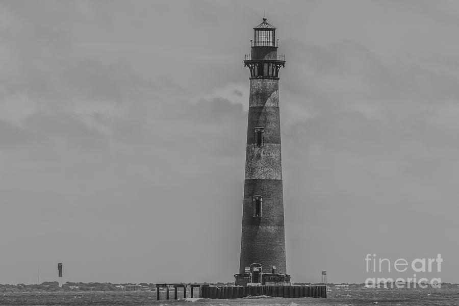 Southern Lighthouse View -  Charleston South Carolina Photograph