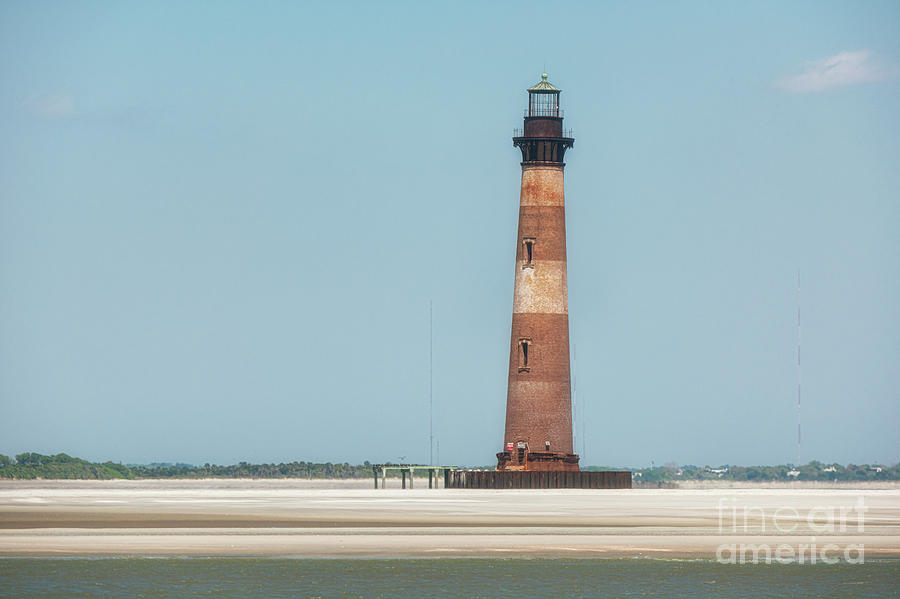 Southern Sand - Morris Island Lighthouse Photograph