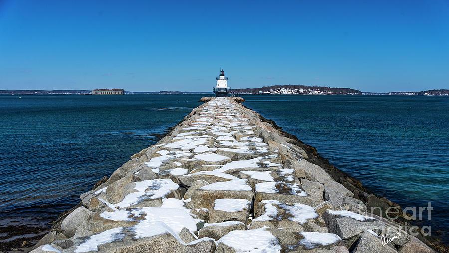 Spring Point Ledge Lighthouse Photograph